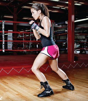 Cara Castronuova - professional fitness trainer www.fitness-mma-shop.com