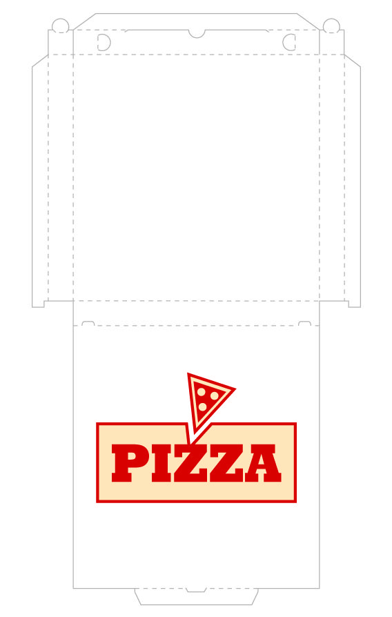 Printable Pizza Box Design Ninja Turtle Birthday Pinterest