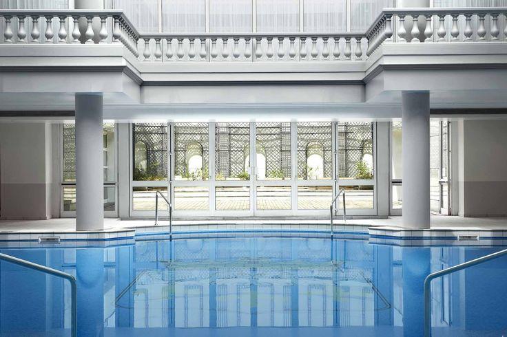 Indoor Swimming Pool: White Design