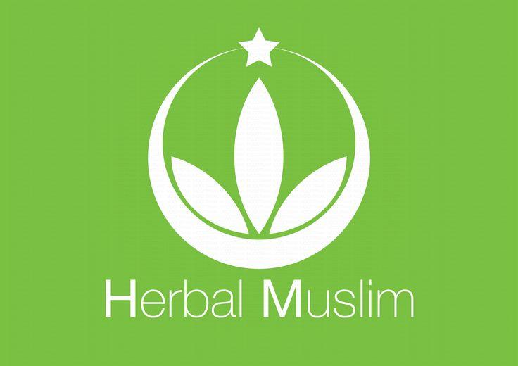 Herbal Muslim logo dark