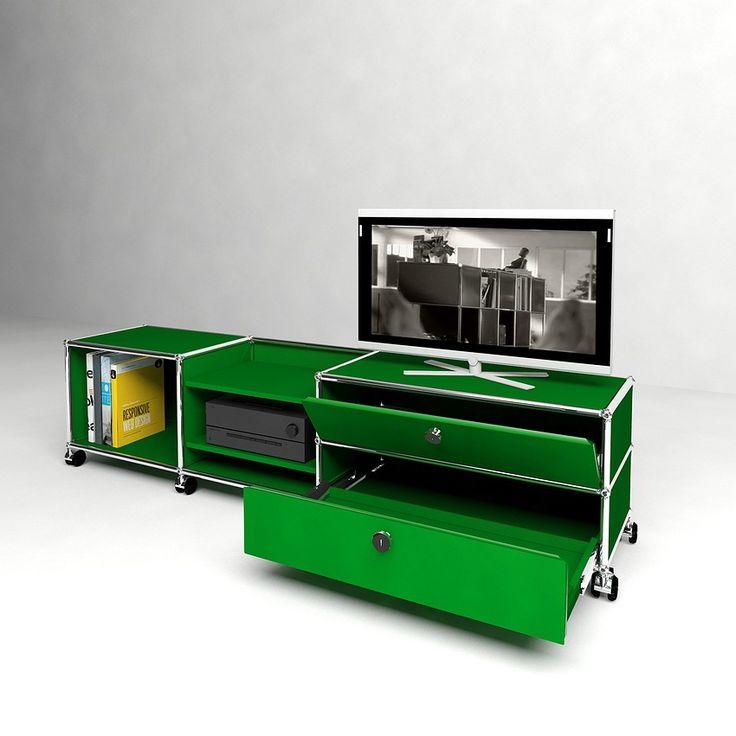 21 best meubles multim dia sur mesure solutions usm images on pinterest taylormade modular. Black Bedroom Furniture Sets. Home Design Ideas