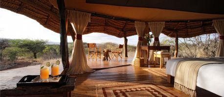 Tents - Lewa Safari Camp