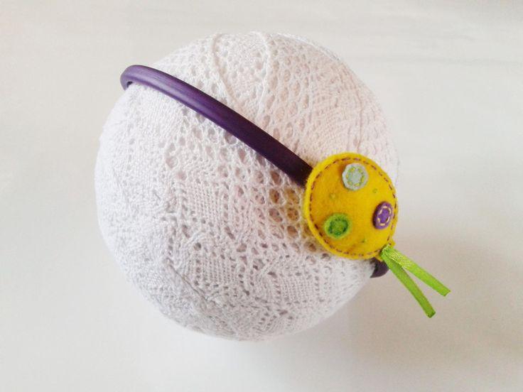 Opaska do włosów - balonik - Fabricate w Fabricate na DaWanda.com