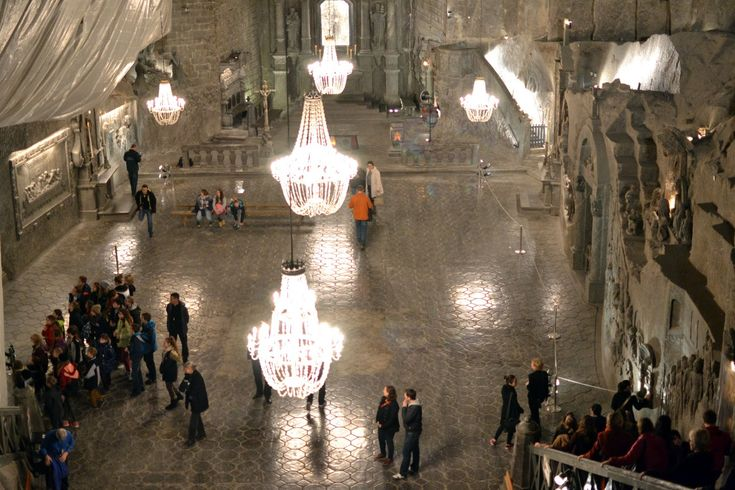 Visiting the 700 year old Wieliczka Salt Mine, KRAKOW - The ...