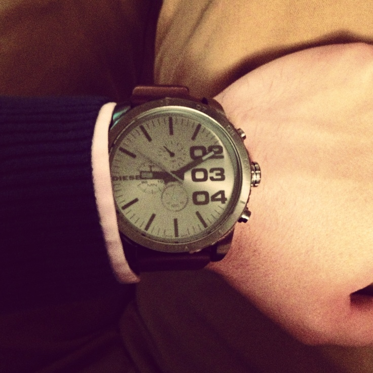 Brown Leather Watch!!