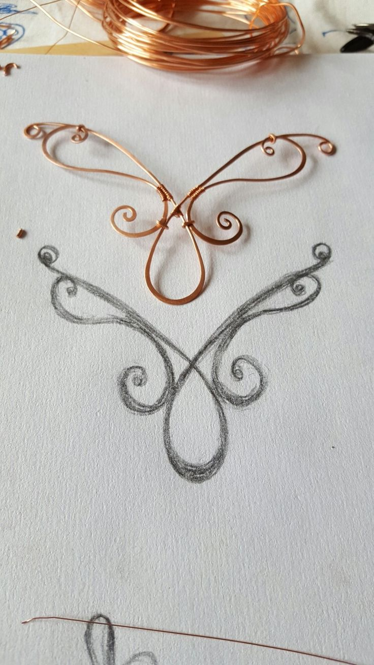 Working on some new designs, this one is in copper