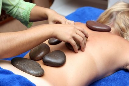 Directions for Hot Stone Massage at home