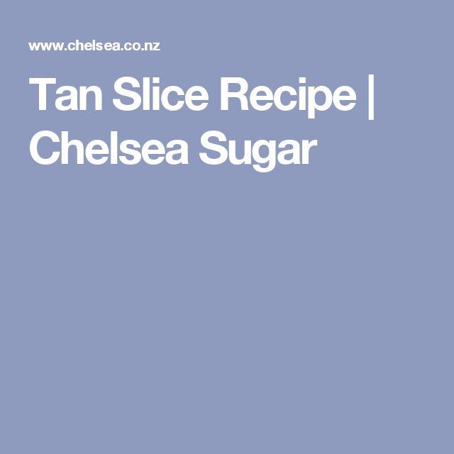 Tan Slice Recipe | Chelsea Sugar