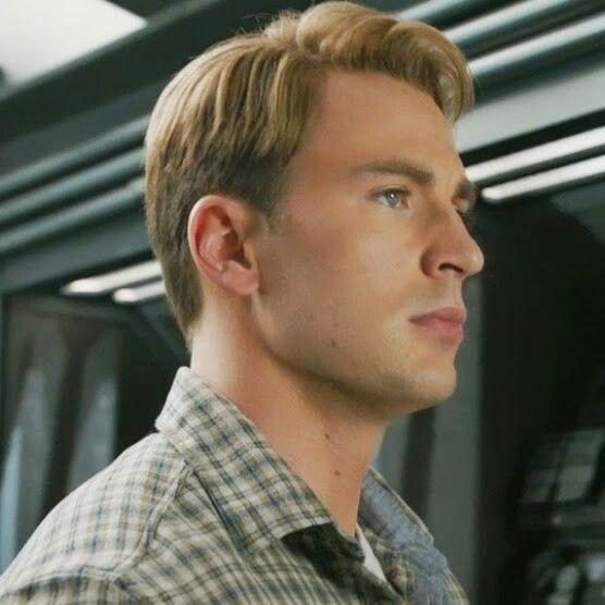 Steve Rogers Captain America Chris Evans Boy S Hair