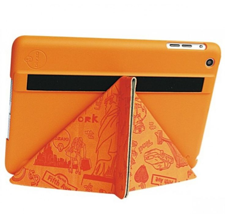 The Ozaki IPad Mini O!Coat Travel is bright and colorful folio case that can also be used as a stand and, more importantly, protects your tablet on all sides from drops and scratches. http://www.zocko.com/z/JGOy4