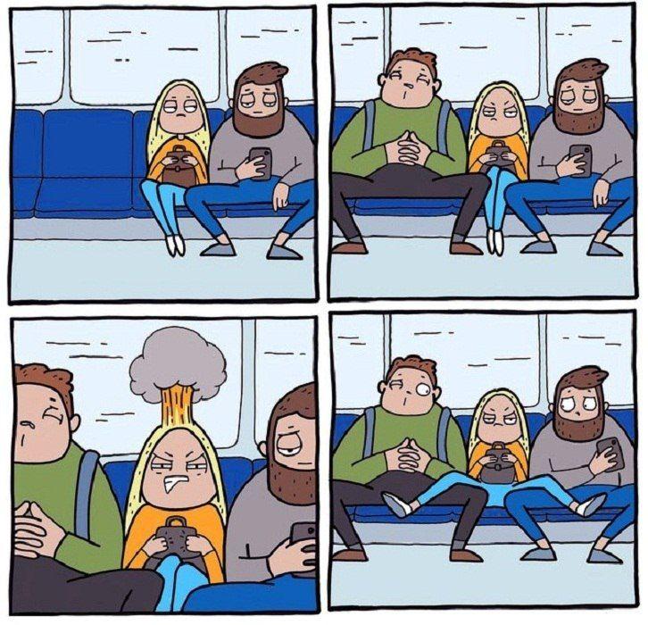 Картинки смешные комиксы на русском
