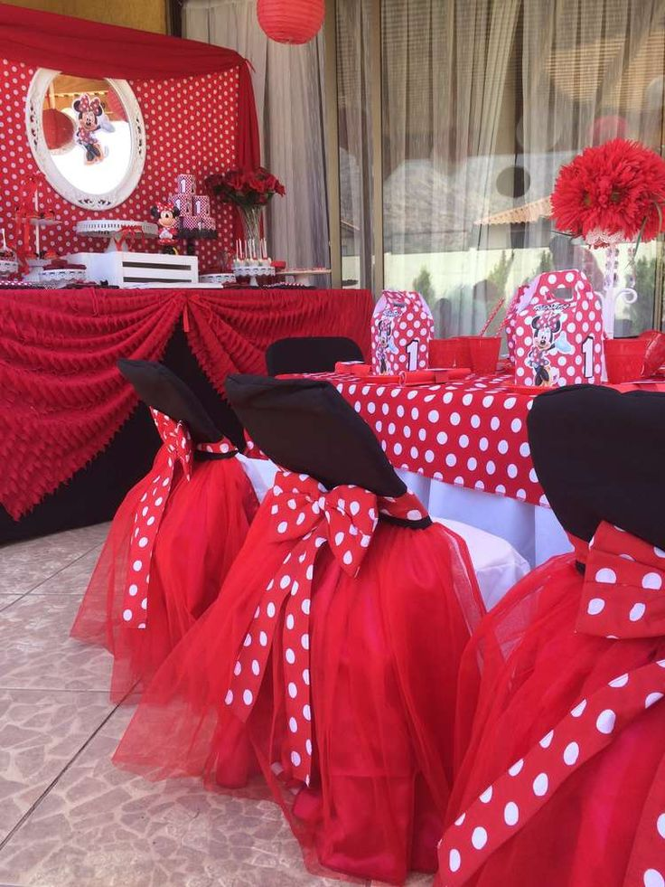 1172 Best Minnie Mouse Party Ideas Images On Pinterest