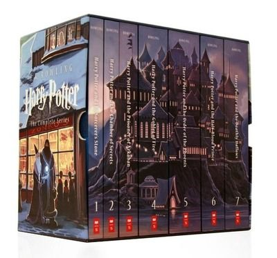 Have you seen the new Harry Potter book covers from Scholastic? So maybe I already have like 3 different versions, but you can never have enough copies of HP.