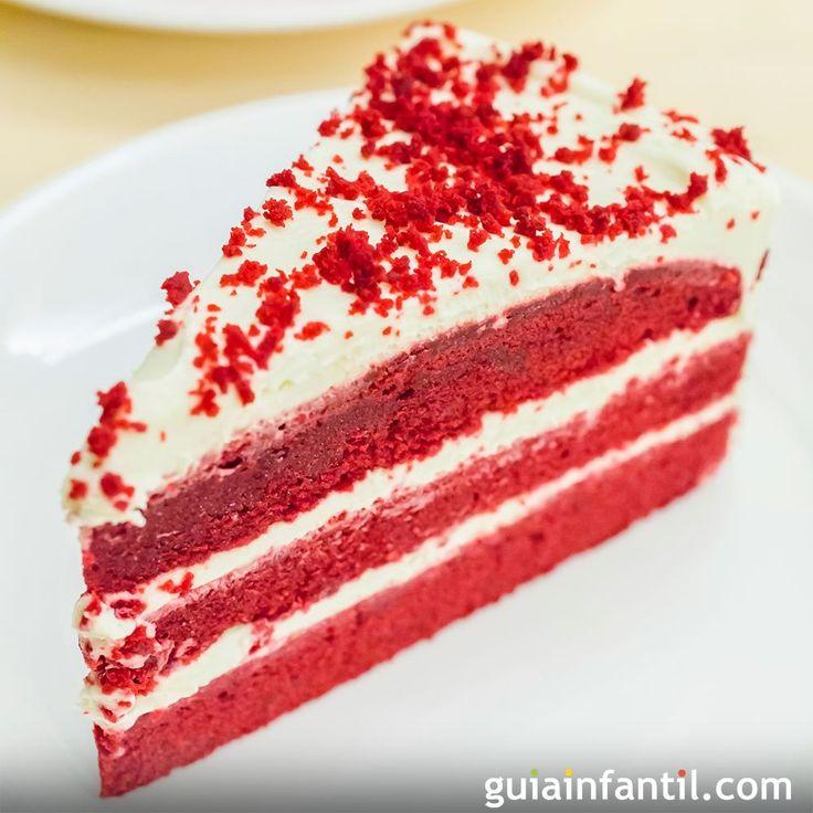 La tarta Red Velvet es muy típica en San Valentín, pero puedes prepararla en cualquier fiesta para sorprender a niños y mayores. Una receta paso a paso para un magnífico postre.