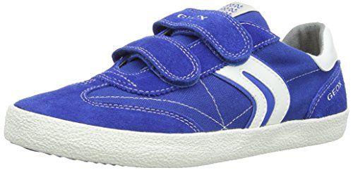 Geox JR KIWI BOY M, Jungen Sneakers, Blau (ROYAL/OFF WHITEC4304), 28 EU - http://on-line-kaufen.de/geox/28-eu-geox-kiwi-m-jungen-sneaker