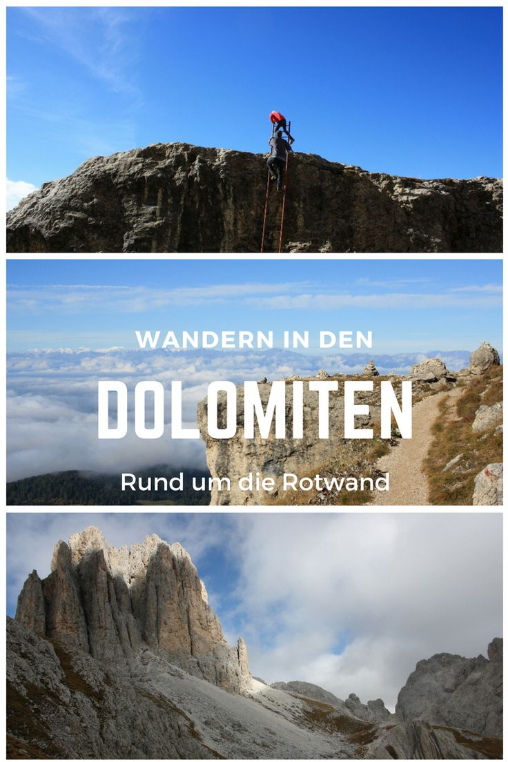 Wanderung rund um die Rotwand in den Dolomiten