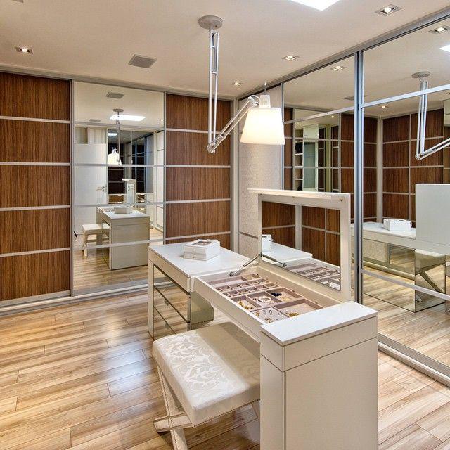 Decor Salteado - Blog de Decoração e Arquitetura : Closets modernos e estilosos - veja dicas e modelos lindos!