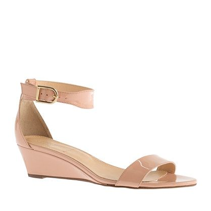 Nude low wedges Nude Photos 26