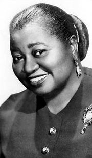 Ms. Hattie McDaniel. First Afr American woman to win an Academy award. Gone with the Wind!
