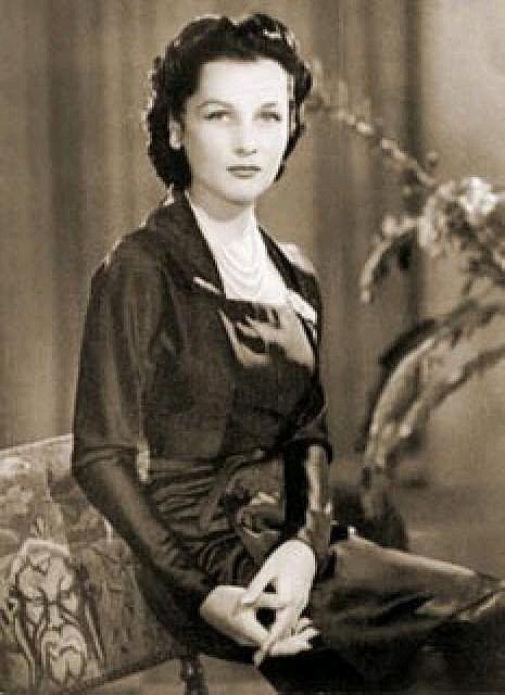 HRH Princess Fawzia of egypt 1948
