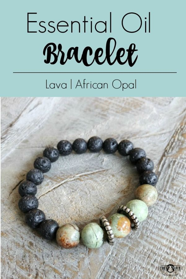 A beautiful and fun way to enjoy your essential oils! This aromatherapy bracelet is made with genuine African Opal gemstone beads and lava stone.  To order or see more of my designs, CLICK HERE!