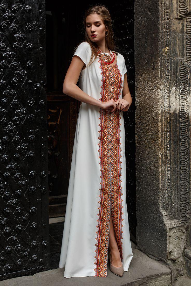 """Сукня HRW-DR06 - унікальний вишитий одяг від студії """"Гойра"""" (Львів). Великий вибір вишитих суконь, індивідуальний пошив. Замовляйте!"""