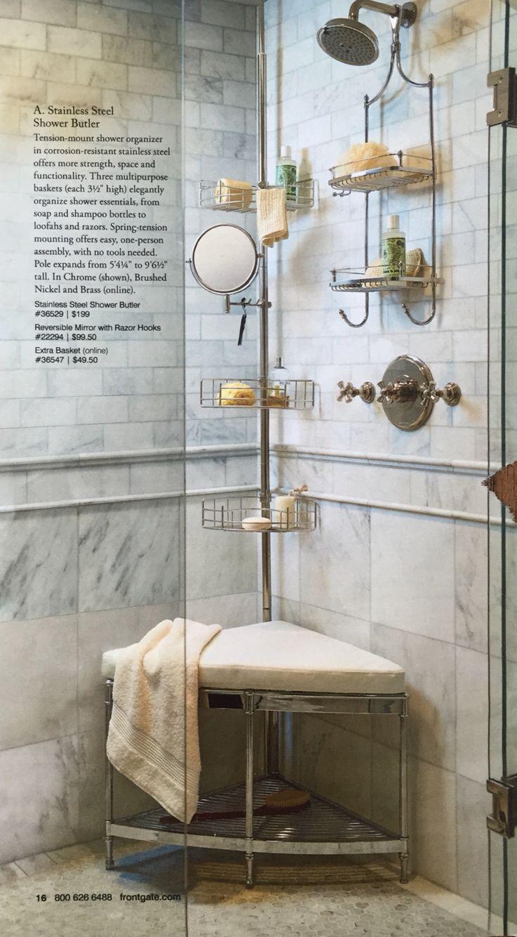 Awesome Shower Butler Ideas - Bathroom and Shower Ideas - purosion.com