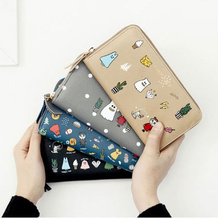 women wallets fashion 2016 new casual pu leather Korea lady purse long print cartoon zipper cute female clutch wallets,LB2098-in Wallets from Luggage & Bags on Aliexpress.com | Alibaba Group