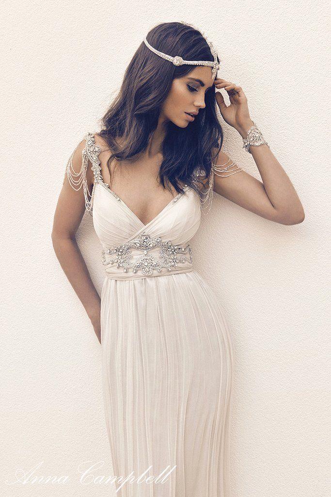Ideen zu Anna Campbell Hochzeitskleider auf Pinterest  Anna campbell ...
