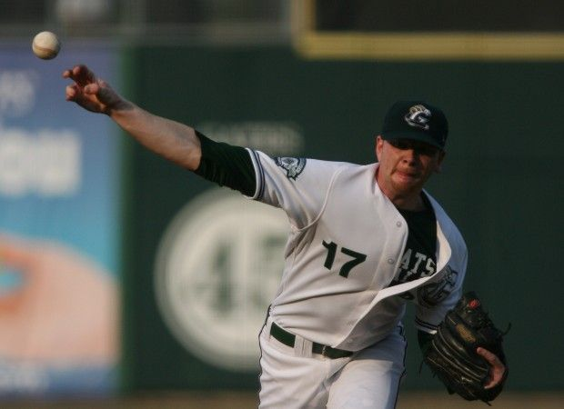 Perth Heat's Jack Frawley playing with the RailCats in 2011