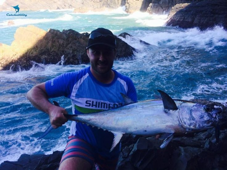 """Longtail tuna caught by Andy near Port Macquarie with a metal slice. """"First land based tuna, what a rush!!!""""  #Fishing with Catchability"""