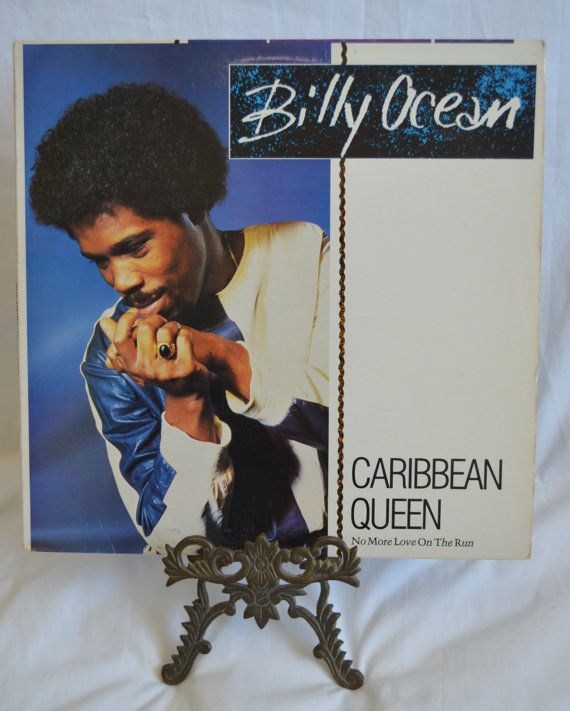 Vintage Record Billy Ocean Caribbean Queen Album by FloridaFinders, $6.00