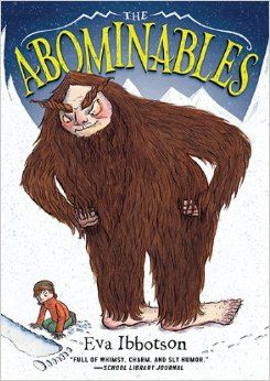 THE ABOMINABLES by Eva Ibbotson, illustrated by Fiona Robinson. A family of Yetis and their guardian, Lady Agatha, are in danger of being discovered in the Himalayas when a boy and his sister - and a kind refrigerated truck drive -find a way to help by driving the Yetis and their pet yak all the way to England.