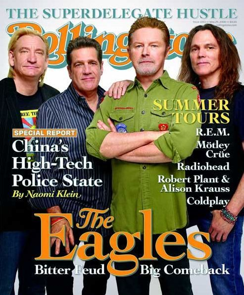 """I have watched the """"rock""""umentary on the Eagles - loved it.  Going to see their next concert in Louisville.  It's been a few decades. Can't wait!"""