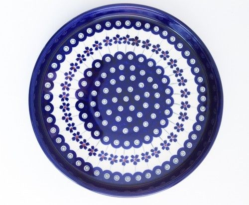 Medium Serving Plate #PotteryCorner #Boleslawiec #Polishpottery #plates