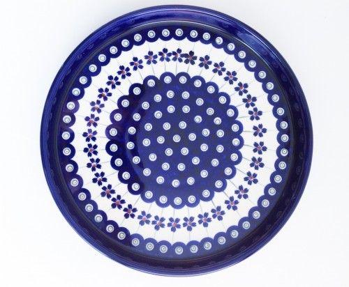 Medium Serving Plate #PotteryCorner #Boleslawiec #Polishpottery #plates