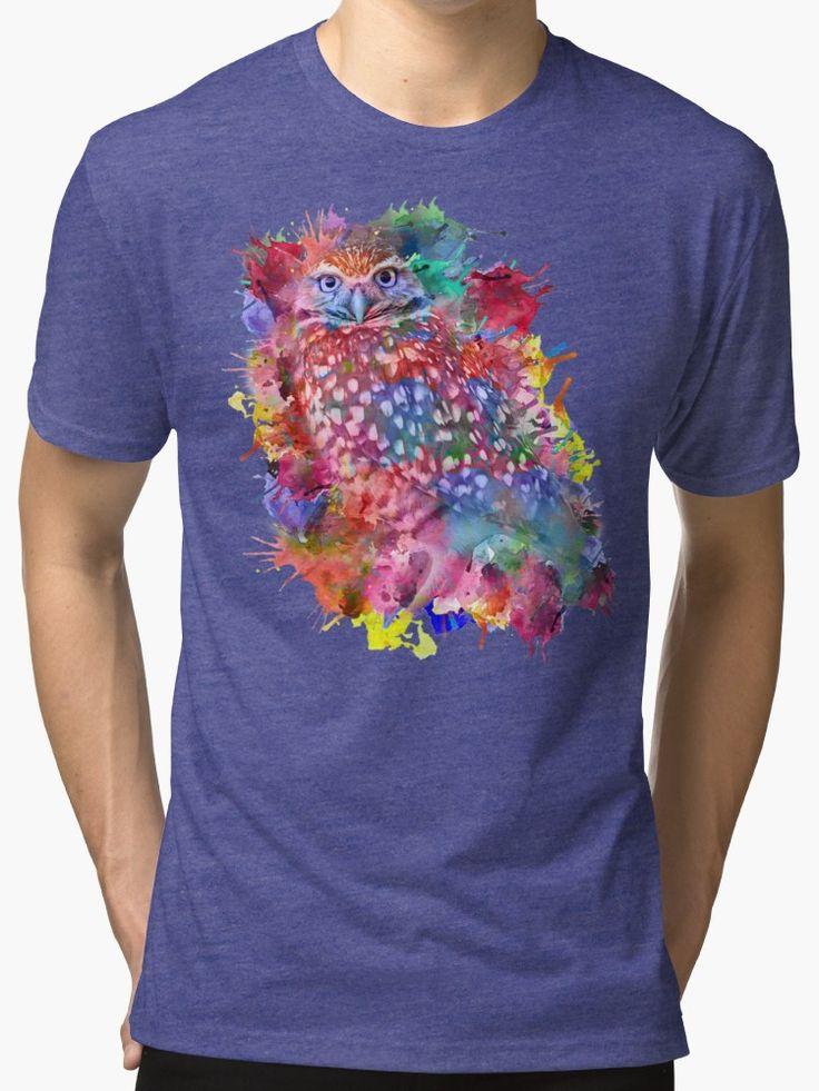 Rainbow owl by augustinet
