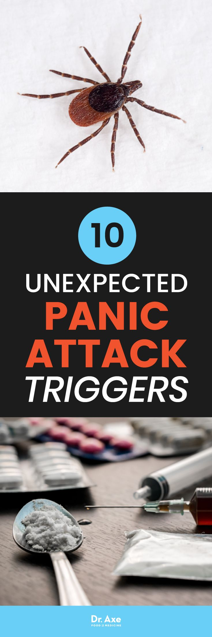 According to science, your panic attack symptoms could be triggered by some unexpected sources, including a cat scratch or tick bite, among other things.