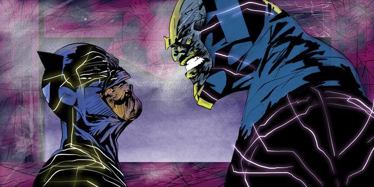 Batman vs. Darkseid - JohnyBlazzze.deviantart.com