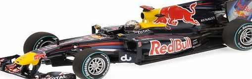 Red Bull Racing 1:43 Scale Renault RB6 S Vettel Abu Dhabi World Champion 2010 tem Weight104 gProduct Dimensions14.4 x 7.4 x 4.3 cmManufacturer recommended age:18 years and upItem model number410100105Assembly RequiredNoScale1:43Batterie (Barcode EAN = 4012138106758) http://www.comparestoreprices.co.uk/cars-and-other-vehicles/red-bull-racing-143-scale-renault-rb6-s-vettel-abu-dhabi-world-champion-2010.asp