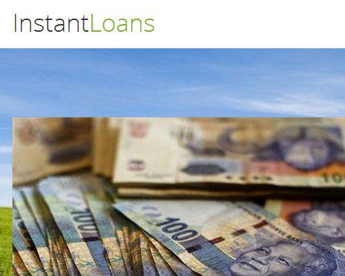 Web Design - Instant Loans SA