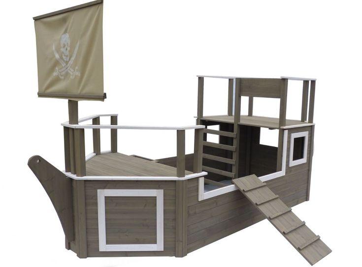4500 kr, 3,2 m x 2,1 m (inkl. trappe) Pirat skib