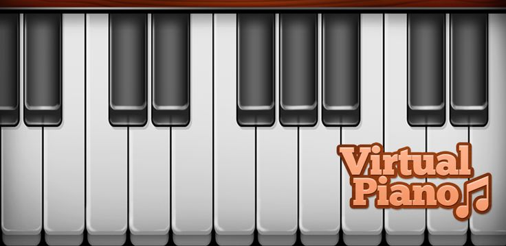 If you love instruments and playing piano, get this simple Virtual Piano and have fun!