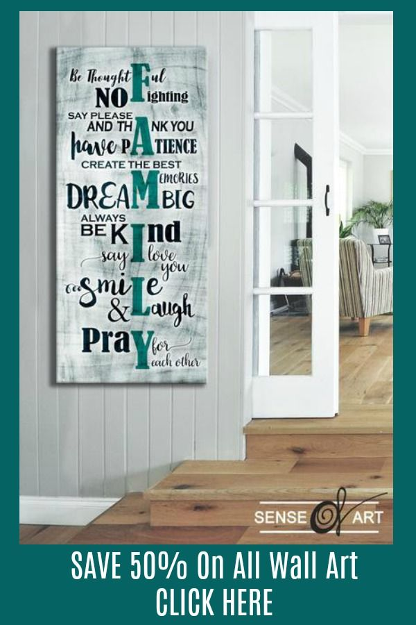 Home Wall Art Family Sign Wall Art Wood Frame Ready To Hang Wall Signs Home Decor Design Your Own Home