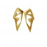 Vinderskov Design: Angels øreringe i forgyldt sølv
