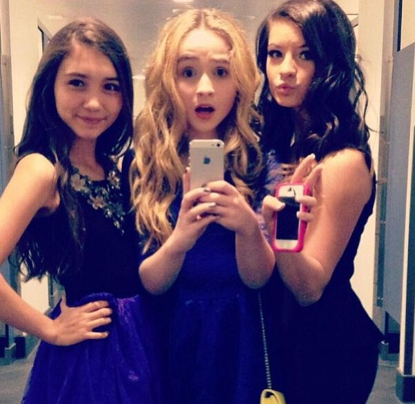 WOAH. WOAH WOAH!!! BROOKE, SABRINA AND ROWAN!!!!!