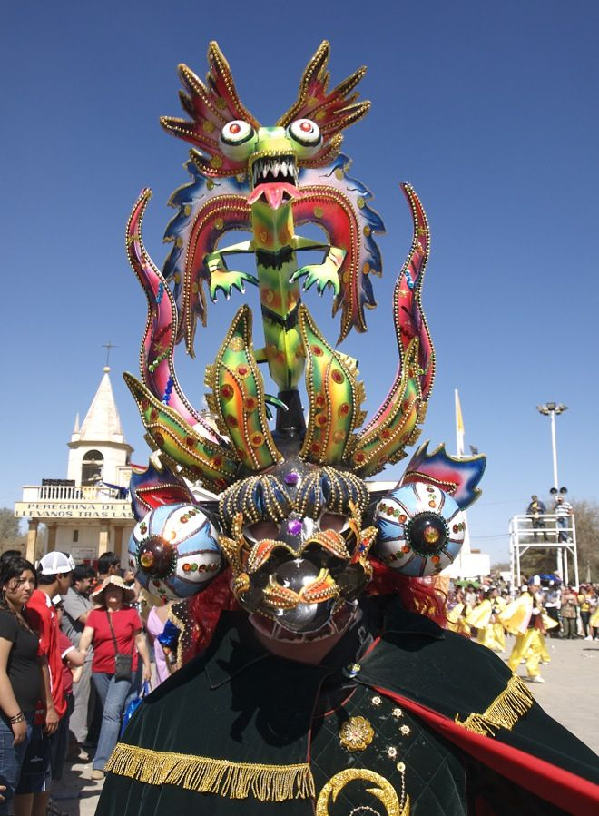Fiesta de La Tirana en Iquique, Chile.
