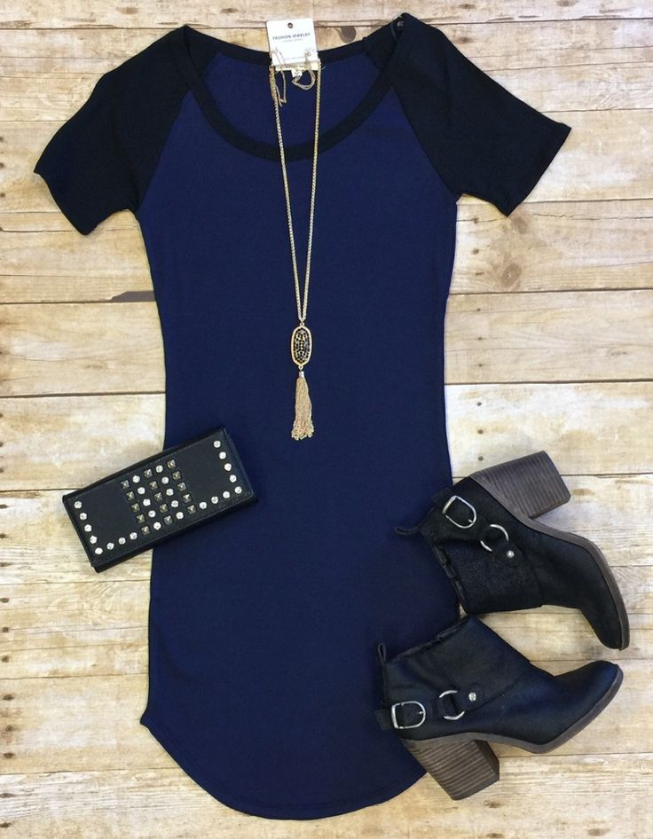 Home Team Tunic Dress: Royal from privityboutique
