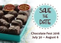 Chocolate Fest 2016: July 30 - August 6