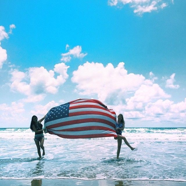 july 4th on the beach